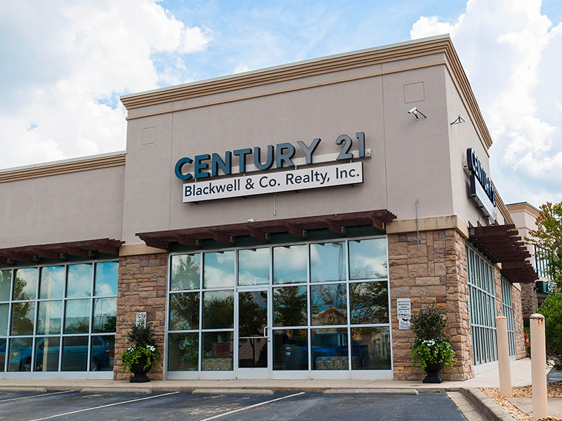 Century 21 Boiling Springs Sign